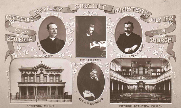 Hanley Circuit ministers, 1912