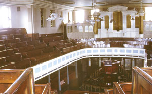 The interior in 1970