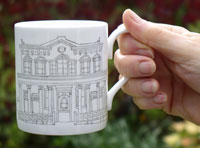 An image on the Bethesda mug